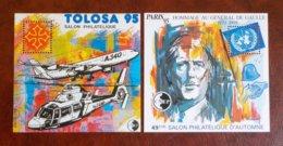 2 Feuillets CNEP N° 20 Et 21 - Tolosa 95 Et 49eme Salon Paris 1995 - CNEP