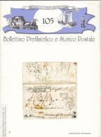 Bollettino Prefilatelico E Storico Postale N. 105 Febbraio 1999 - Italiano