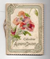 CALENDRIER ALPHONSE DAUDET - 1897 - Kleinformat : ...-1900