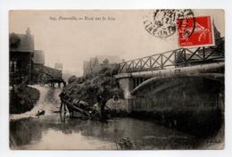 - CPA POURVILLE (76) - Pont Sur La Scie (avec Personnages) - - Francia