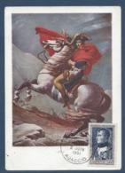 France - Carte Maximum - Ajaccio - Napoléon - 1951 - Cartoline Maximum