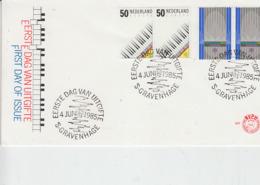 PAESI BASSI 1985 - Unificato1244/5 - Annullo Speciale - Europa - Europa-CEPT