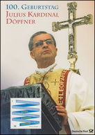 3026 Julius Kardinal Döpfner: Präsident Der Würzburger Synode - EB 4/2013 - BRD