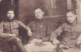 AUSTRIA   --  K. U. K. SOLDATEN IN ZAGREB, CROATIA  --  ORDEN  --    1918 - 1914-18