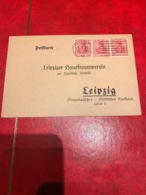 Timbre Allemand  Sur Carte 1€ Départ - Germany