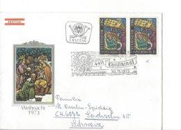 22521- Christkindl 1973 Cover Pour Sachseln 30.11.1973 Weihnacht - Noël