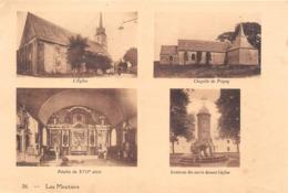 LES MOUTIERS-en-RETZ  -  Feuille D'un Fascicule Du Pays De Retz - Multivues - Vues Recto-Verso - Voir Description - Les Moutiers-en-Retz
