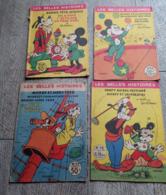 BD Lot 4 Mickey Les Belles Histoires Walt Disney Père Noël Pirates Moby Fred Mystère - Magazines Et Périodiques