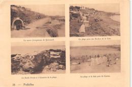 PREFAILLES  -  Feuille D'un Fascicule Du Pays De Retz - Multivues - Vues Recto-Verso - Voir Description - Préfailles