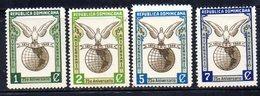 APR2021 - REPUBBLICA DOMINICANA 1949 , Serie Yvert N.  400/409  ***  MNH (2380A)  UPU - Repubblica Domenicana