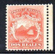 Y1021 - COSTARICA 1862 , Il Medio Real N. 2 Senza Gomma - Costa Rica