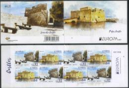 Cyprus 2017 Europa CEPT, Architecture, Castles Booklet - 2017