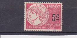 T.F. Spécialités Pharmaceutiques N° 1 - Revenue Stamps