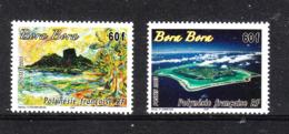 Polinesia  -  2003. Turismo.  Vista Di Bora Bora. Tourism. View Of Bora Bora. Panorama . Complete MNH Series - Geografia