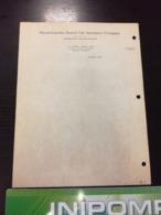 RARE Document  Massachusetts Mutual Life Insurance Company  En L Etat Sur Les Photos - Etats-Unis