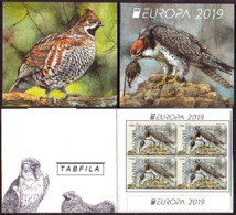 BULGARIA \ BULGARIE - 2019 - Europa-CEPT - Oiseaux Protégés - Carnet De 4 Set. ** - 2019