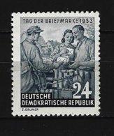 DDR - Mi-Nr. 396 Tag Der Briefmarke Postfrisch - Undurchsucht - [6] Repubblica Democratica