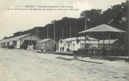 ROUEN - Grande Semaine D'aviation, Le Grand Restaurant, Les Bureaux Du Comité Et Le Kiosque à Musique. - Rouen