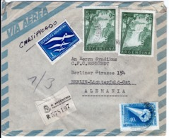 ARGENTINA  - ARGENTINA TO GERMANY  FDC7151 - Argentinien
