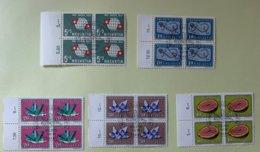 9002 - Pro Juventute 1959 Blocs De 4 - Used Stamps