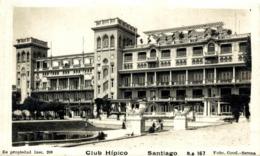 SANTIAGO DE CHILE. CLUB HIPICO - Chile
