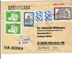 ARGENTINA  - ARGENTINA TO GERMANY  FDC7152 - Argentinien