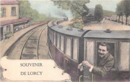45 - Loiret - LORCY - 453478 - Fantaisie Moderne CPM Au Format CPA 9 X 14cm - France