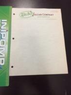 RARE Document Wel Bilt Vulcan Company  En L Etat Sur Les Photos - Etats-Unis