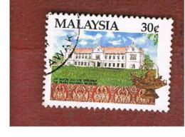 MALESIA (MALAYSIA)  -  SG 469  -   1991  SARAWAK MUSEUM  -  USED ° - Malesia (1964-...)