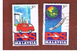 MALESIA (MALAYSIA)  -  SG 473.475  -   1992  POS: POST OFFICE CORPORATION -  USED ° - Malesia (1964-...)