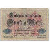 Billet, Allemagne, 50 Mark, 1914, 1914-08-05, KM:49b, AB - [ 2] 1871-1918 : Duitse Rijk