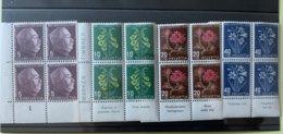 9006 - Pro Juventute 1948 Blocs De 4 - Used Stamps