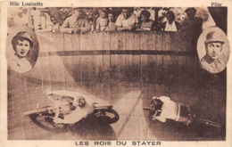 LES ROIS DU STAYER- MELLE LOUISETTE ET PILAR - Circo