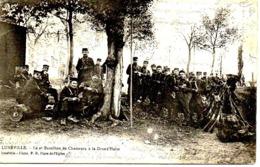 LUNEVILLE -2ème Bataillon De Chasseurs à La Grande Halte - Luneville