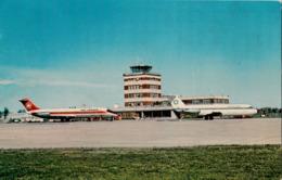 Québec Canada - Ancienne Lorette - Aérogare Aéroport Airport - By Émile Kirouac - 2 Scans - Québec - Sainte-Foy-Sillery