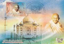 Iran 2019 Birth Anniversary Of Mahatma Gandhi Maximum Card Stamp, India, Maxi Card - Mahatma Gandhi