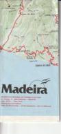 MADEIRA FUNCHAL Mapa - Europa
