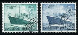 Berlín Nº 111/12 (año 1955) Usado - [5] Berlin