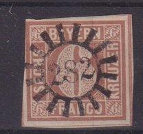 BAVIERE : N° 3 . OBL . AB . 1849/50 - Bayern