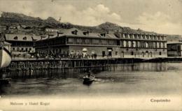 COQUIMBO ELQUI MALECON Y HOTEL KOGO. - FOTOGRAFICA - Chile