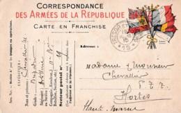 FRANCHISE MILITAIRE CORRESPONDANCE   REF 61234 - Militaria