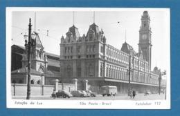 BRASIL SAO PAULO ESTACAO DA LUZ 1953 - São Paulo