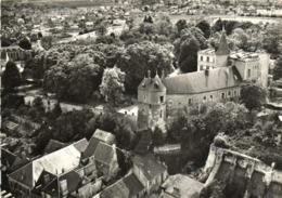 CPSM Grand Format  EN AVION AU DESSUS DE ..MONTARGIS (Loiret) Le Chateau  RV  Lapie - Montargis