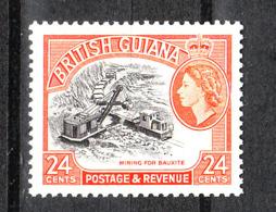 Guyana  British - 1954. Estrazione Della Bauxite. Bauxite Extraction. MNH - Minerali
