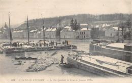 Château Thierry Péniches Péniche Inondations Crue 1910 - Chateau Thierry