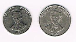 //  HAITI  20 En 50 CENTIMES 1995 - Haiti