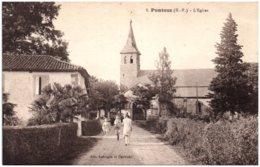 65 PUNTOUS - L'église - Frankrijk