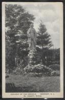 CPA USA - Newport, Convent Of The Cenacle - St Joseph's Statue - Newport