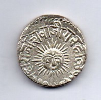 INDE - INDORE, 1 Rupee, Silver, 1890-98, KM #44 - India