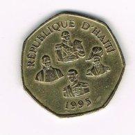//  HAITI  5  GOURDES 1995 - Haiti